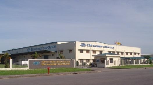 Trồng và chăm sóc cây cỏ công ty Chế tạo máy EBA