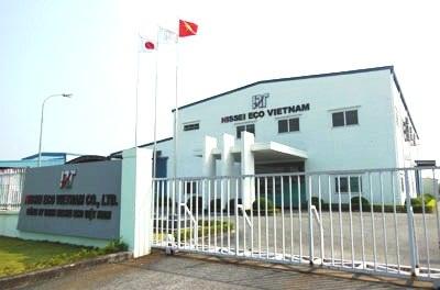 Trồng và chăm sóc cây cỏ Công ty NISSEI ECO Việt Nam