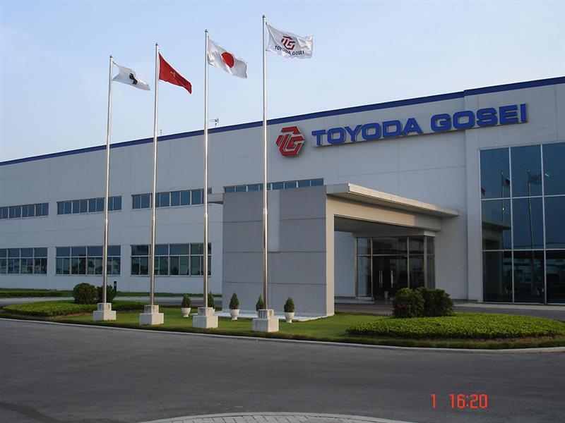 Chăm sóc và duy tu khuôn viên Công ty TOYODA GOSEI